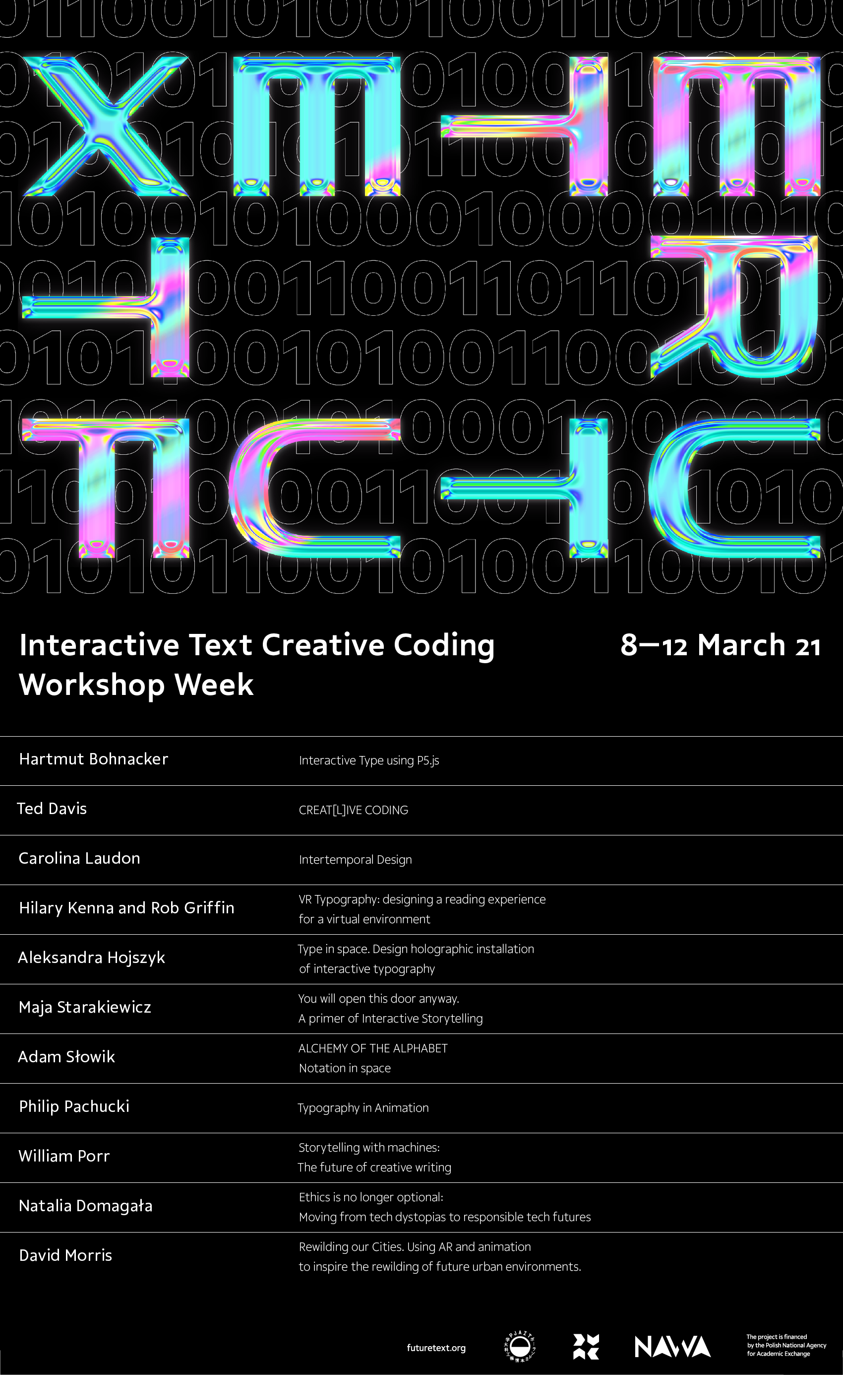 Interactive Text and Creative Coding