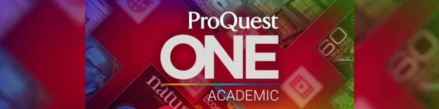 ProQuest ONE Academic Access until May 23