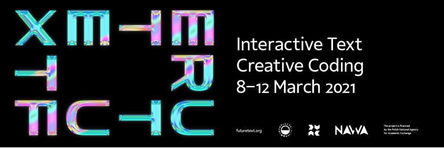 Future text – Interactive Text Creative Coding